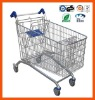 Round nose European style of shopping trolley