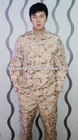100% cotton desert army camouflage ACU uniform