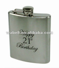 Novelty stainless hip flask.