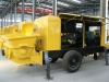 mobile truck mounted concrete pump units easy operation