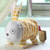 2012 latest cute Rabbit design cotton fabric toilet tissue cover