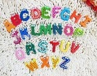 wooden fridge magnets magnetic stickers alphabet ABC 26 letters Cartoon creative toys