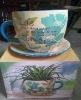 ceramic flower vase for home decoration