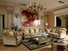 Luxury classical wooden living room furniture set, MOQ:1SET(B66008)