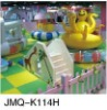 2012 JMQ-K114H kids cushian playground,cheap soft play equipment,cartoon kid playground