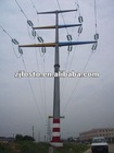 500kv Power transmission steel cable pole tower