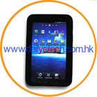 Black Silicon Case for Samsung Galaxy Tab(GT-P1000)
