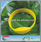 New Arrival ,Silicone Rubber Wristband with I CODE SLI IC and Printed Logo, Measures 20cm