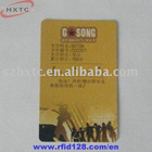 pet rewritable card with Mifare one S50