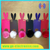 New bunny rabbit silicon case for iphone 5