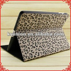 Cool Leopard Stand Leather Case Cover for iPad