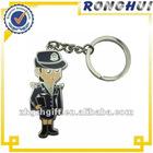 angel souvenir/soft enamel/policewoman keychain/keyring gift