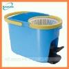 plastic 360 spin mop bucket