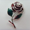 fashion rose brooch jewelry