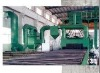 Steel cleaning, cleaning, spray paint, drying processing line