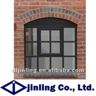 thermal break aluminum casement window house window with grills