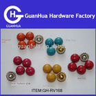 mushroom rivet dome colored rivets fasteners