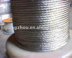 Mining steel wire ropes