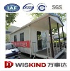 75mm eps/rockwool sandwich panel building prefabricated light steel frame house