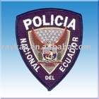 Police embroidery epaulettes