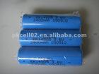 PKCELL 3.6V 2400mAh ER14505/AA Li-SOCL2 Battery