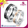 Hot sale engraved couple rings