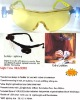 Nighttime safety glasses