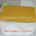 beeswax comb foundation