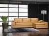 Good Quality Furniture Genuine Leather Corner Sofa 1063