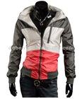 Manufacturer company men's blazer coat zip up outwear thick winter coat