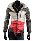Manufacturer company men's blazer coat zip up outwear thick winter coat