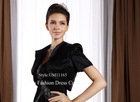 UJ11180 Black satin jacket with simple style, 2012 new style wrap
