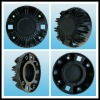 aluminum speaker part rear cap