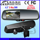 "RVR430LB3 4.3"" Car DVR 3-Way for Front & Inside & Back"
