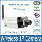 UPNP Mega Pixel IP CCD Camera