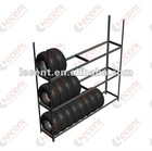 "3 layers Tire storage shelving 92""*16""*92"""