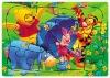cartoon paper puzzle