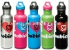 His and Hers Sport Bottles - in Stainless Steel