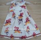 100%cotton woven girls skirt