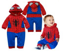 Spider-Man shape baby's cute rompers