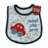 100% cotton baby bib