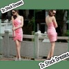 SC0002 Sweetheart Stereoscopic Appliqued Pink New Fashion Girls Party Dresses