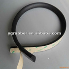 adhesive backed silicone sponge rubber strip