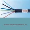 Cu PVC insulated and sheath flame retardant Control cable with copper wire braiding shield