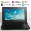 10 Inch Cheap Student Computer Mini Laptop Child Netbook,Android4.0 OS,1.2GHz CPU,4GB HDD,WiFi,Ethernet Access,Camera