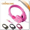 New fashionable colorful headphone