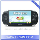 "ZX-MP173 handheld game player with 4.3"" multicolor TFT full-screen supported 32GB TF card"