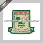 custom brand woven label badge