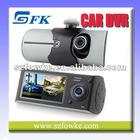 Dual Lens Vehicle DVR Car Camera DVR Video Recorder & G-sensor