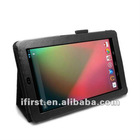 NEW Black Leather Stand Support Case Cover For Google Nexus 7 Tablet 7 inch